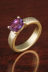 Trend to Watch: Birthstones in Engagement Rings