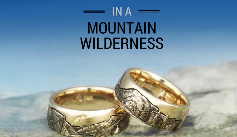 How to Capture Your Love in a Mountain Wilderness Ring