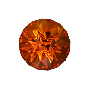 20.37 ct Fireball Cut Citrine ($1182)