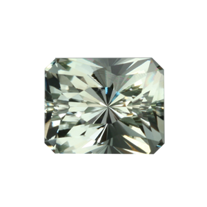 5.36 Ct Regal Radiant Cut Prasiolite ($322)