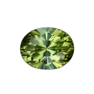 3.90 Ct Regal Radiant Cut Green Tourmaline ($990)