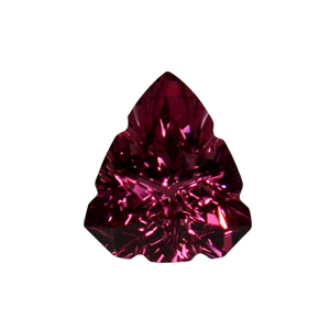 1.64 ct Tri-Angel Shield Pink Spinel ($1770)