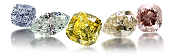 fancy colored natural and enhanced diamonds