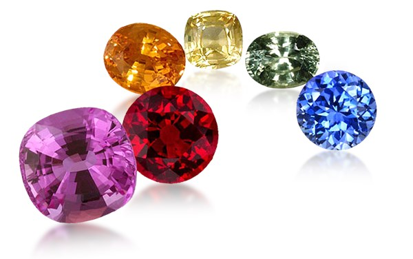 sapphires and other gemstones