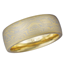 Sahara Mokume Wedding Band in Yellow Gold