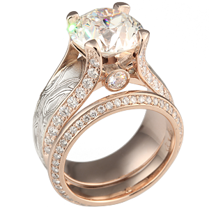 Juicy Light Engagement Ring with 3.5 ct Diamond
