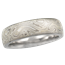 6mm Winter Mokume Wedding Band