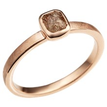 Delicate Stacking Ring in Rose Gold