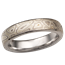 Winter Mokume Wedding Band, 4mm
