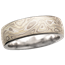 Winter Mokume Wedding Band, 6mm