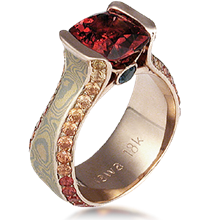 Juicy Liqueur Engagement Ring