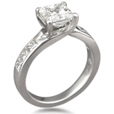 Contemporary Designer Engagement Ring