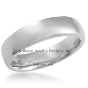 Krikawa's Plain Wedding Band