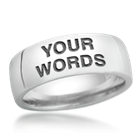 design your own word ring