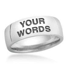 design your own word - Design Your Own Wedding Ring