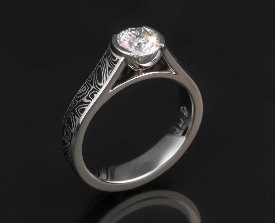 Mokume Cathedral Solitaire Engagement Ring. Priceless Wedding Rings. Montana Silver Engagement Rings. Clip Art Wedding Rings. History Rings. Matching Wedding Rings. Side Profile Engagement Rings. Asscher Rings. Masculine Wedding Rings