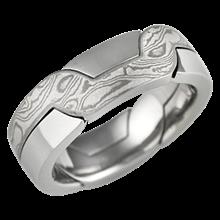 Interlocking Puzzle Wedding Rings