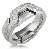 Interlocking Wedding Band
