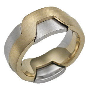 Modern Puzzle Ring