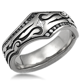 Tribal Wedding Band