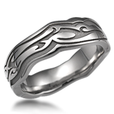 Contemporary Designer Wedding Ring