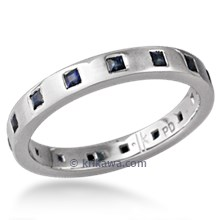 Modern Princess Eternity Wedding Band