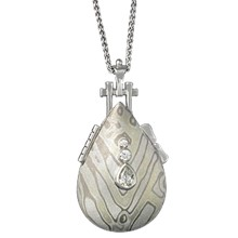 Memorial Mokume Locket