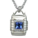 Designer Tanzanite Locket