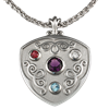 Pendant with Birthstones