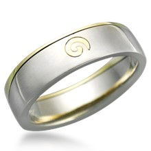 Spiral Puzzle Ring