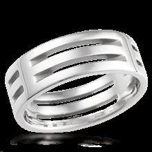 Mens Modern Wedding Rings
