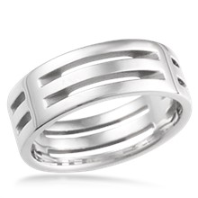 post modern - Modern Wedding Rings