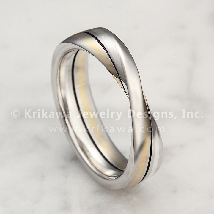 Mobius Strip Wedding Ring