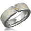 Designer Mokume Wedding Band
