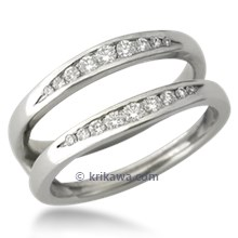 Channel Set Diamond Enhancer 0.30ctw