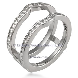 Channel Set Diamond Enhancer 0.44ctw