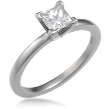 Modern Prong Setting Engagement Ring