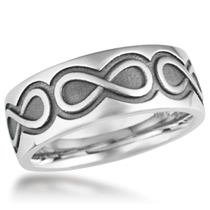 infinity wedding rings. infinity eternity wedding rings
