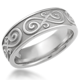 Eternity Symbol Wedding Ring