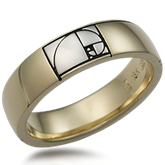 Unique Symbol Wedding Band