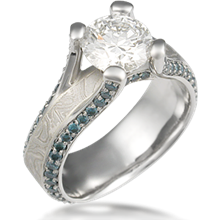 Juicy Cathedral Engagement Ring