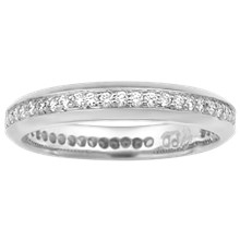 Juicy Diamond Pave Wedding Band - top view