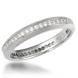 Diamond Accent Wedding Band