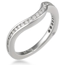 Curved Diamond Band 0.27ctw