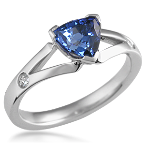 trillion engagement ring