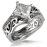 Artistic Engagement Ring
