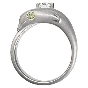 Dolphin Engagement Ring