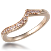 Contoured Wedding Band