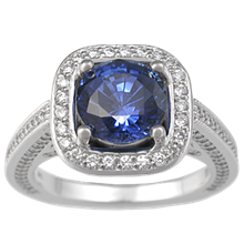 Royal Engagement Ring - top view
