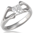Futuristic Engagement Ring